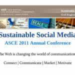 @social media #asce2011