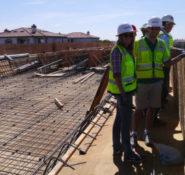 ASCE/CI's Student Days construction site field trip