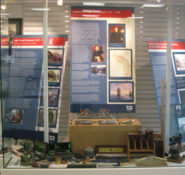 ASCE's Seattle Section commissioned panels to be displayed