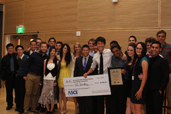 A team of 30 students from the University of California, Berkeley won their 2nd straight ASCE/AISC National Student Steel Bridge Competition (NSSBC)