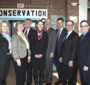 Four officials from Tekna, Norway's largest society of professionals, visited ASCE March 18-19 to sign an Agreement of Cooperation between the 2 organizations.