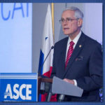 Stevens Ascends to ASCE Presidency; Natale Lauds the Society as Voice of the Profession; Gigaprojects Examined