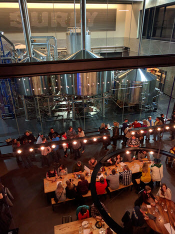 Surly Destination Brewery has immediately become a popular spot in Minneapolis.