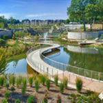 Historic Fourth Ward Park Makes Art of Recycling Pond Water
