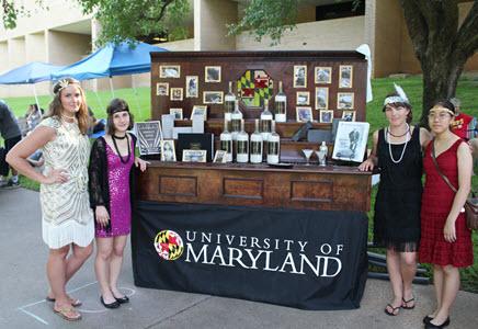 The University of Maryland speakeasy.