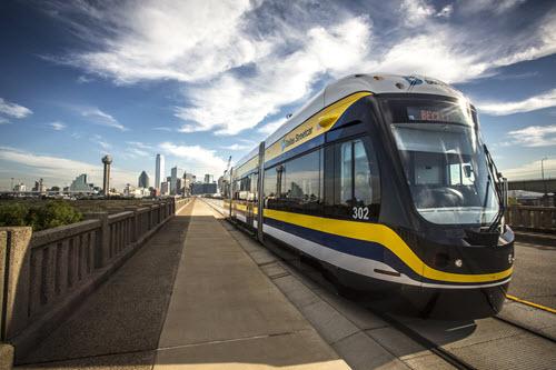 The Union Station to Oak Cliff Dallas Streetcar Project in Dallas.