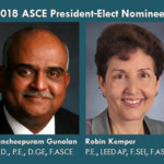 Gunalan, Kemper Tabbed as 2018 ASCE President-Elect Official Nominees