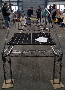 Oregon State will be hosting this year's National Student Steel Bridge Competition. PHOTO: Judy Liu