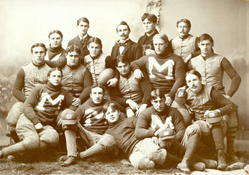 James Baird was a three-year letterwinner for the University of Michigan football team,