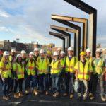 Philadelphia Younger Member Forum Tours Rail Park Construction
