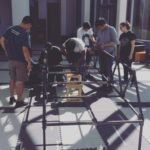 GMU Student Chapter Builds First Steel Bridge of the Semester