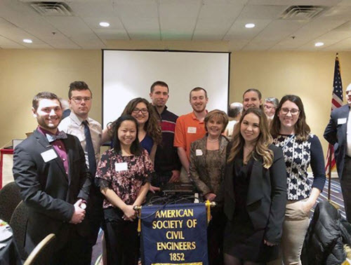 PHOTO: Widener University Student Chapter