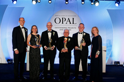 The four 2018 OPAL award winners. PHOTO: David Hathcox