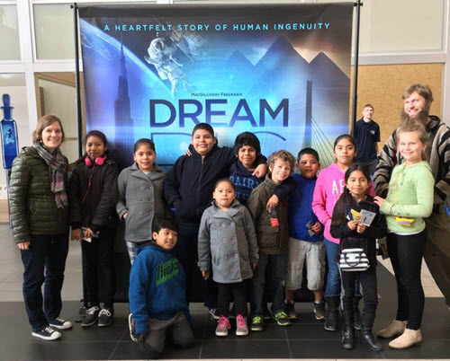 The ASCE Fresno YMF hosted several screenings for local children to see Dream Big last year. Now, the group is turning its attention to putting the film in local schools. PHOTO: Julian Grijalva