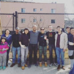 CU and NYCCT Students Volunteer at Community Garden
