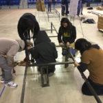 MSU Students Participate in Steel Bridge