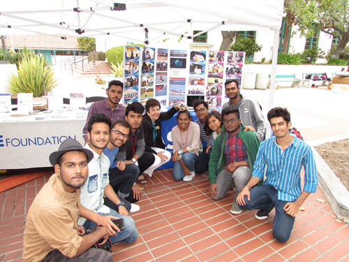 Students from the Vellore Institute of Technology attended the 2018 National Concrete Canoe Competition in San Diego. PHOTO: ASCE Foundation