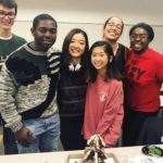 Georgia Tech Students Build Gingerbread Houses