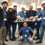 LAU Students Host Popsicle Stick Bridge Competition