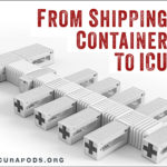 Shipping Containers Serve as ICU Pods for COVID-19 Victims