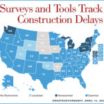 Surveys, Tools Track COVID-19-Related Construction Delays