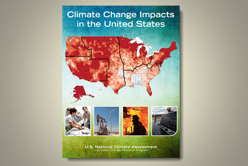 Cover of the Third National Climate Assessment: Climate Change Impacts on the United States