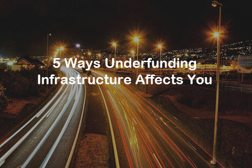 5 Ways Underfunding Infrastructure Affects You