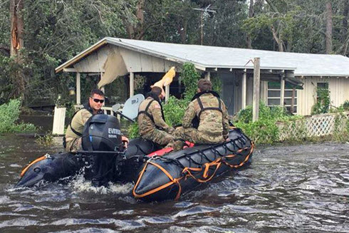 Florida Army National Guard performs search-and-rescue mission
