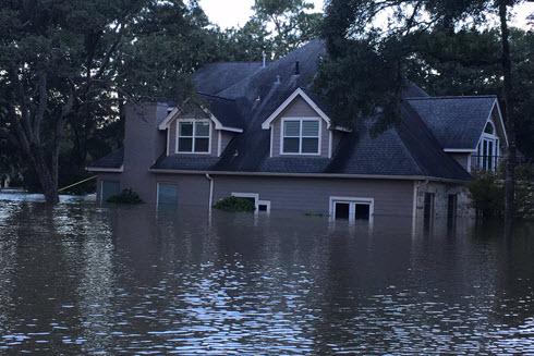 West Houston flooding