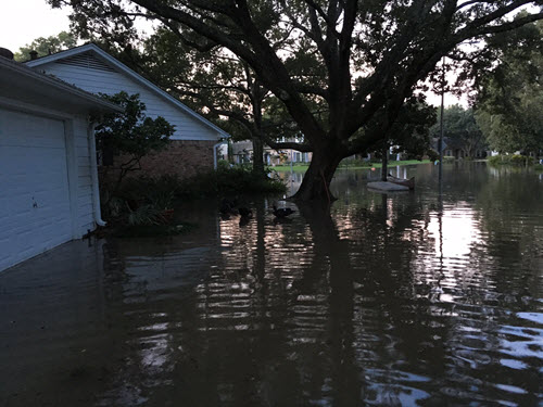 More West Houston neighborhood flooding