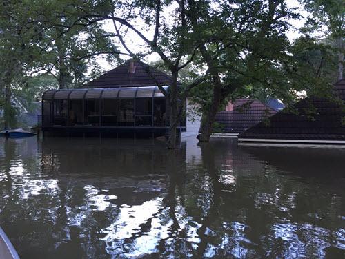 West Houston neighborhood flooding