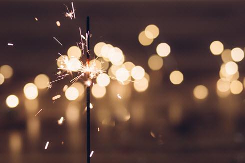 Photo of sparklers
