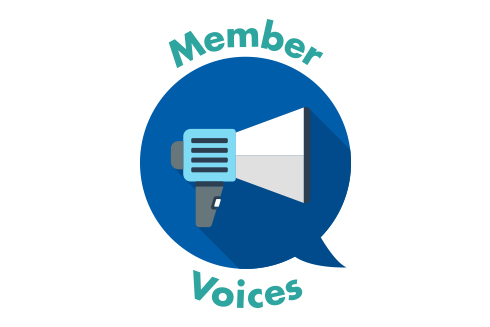Member Voice Microphone logo