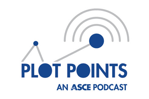 ASCE Plot Points Logo