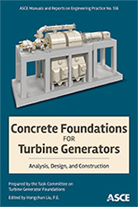 photo of Concrete Foundations for Turbine Generators book