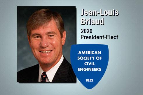 2020 President Elect Jean-Louis Briaud