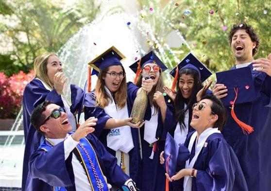Engineering graduates at Florida International University