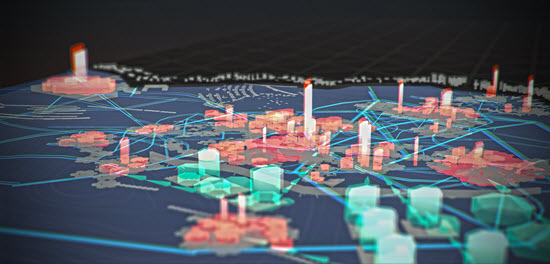 Rendering of the Future World Vision floating city user experience