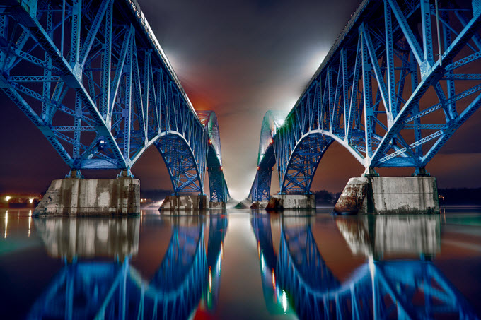 Photo, South Grand Island Bridge, New York