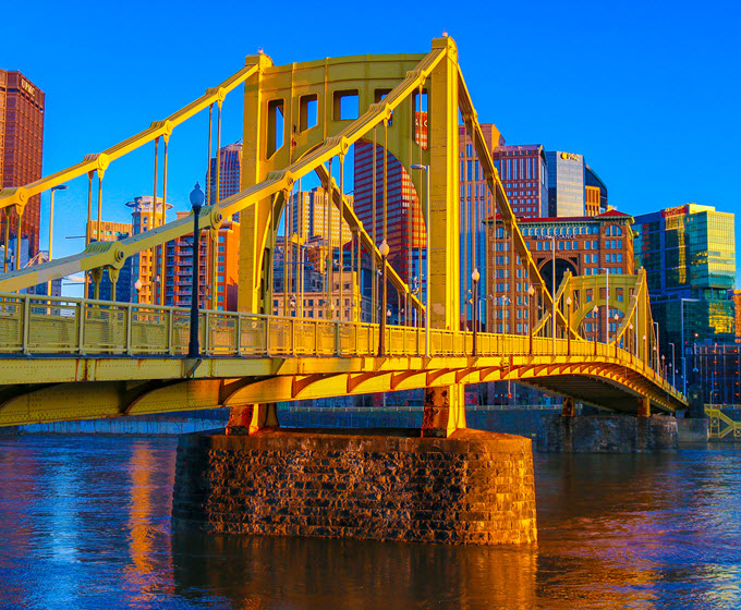 Photo Roberto Clemente Bridge, Pittsburgh