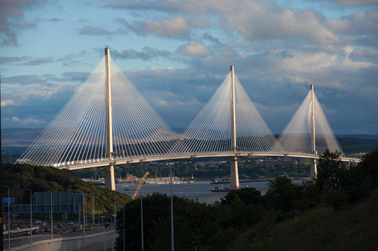 Photo Queensferry Crossing bridge