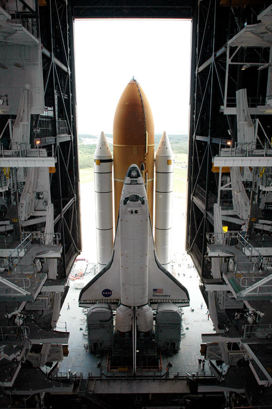 photo of space shuttle