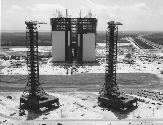 photo of the VAB