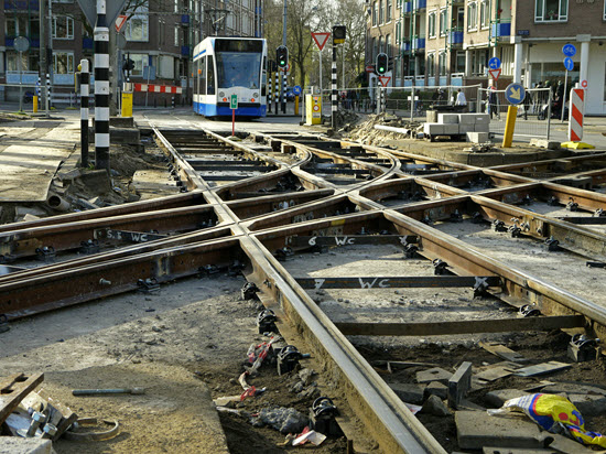 photo of infrastructure work