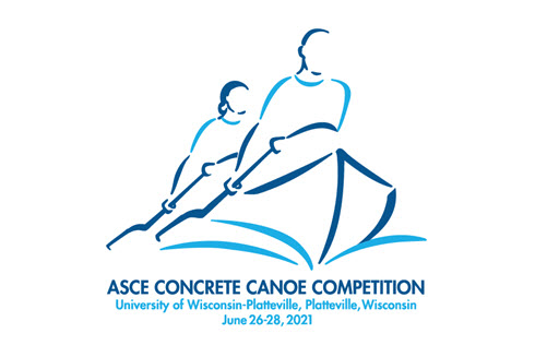 logo for ASCE's concrete canoe competition