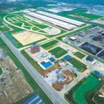 aerial photo of the Bob Bolen Public Safety Complex