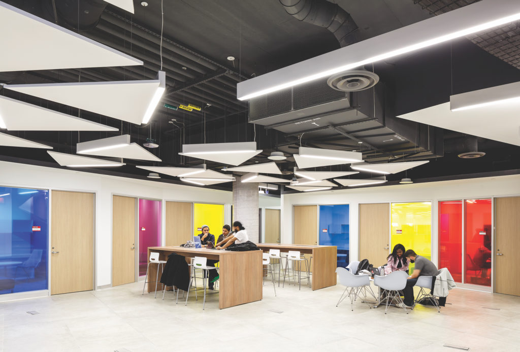 photo of classroom spaces