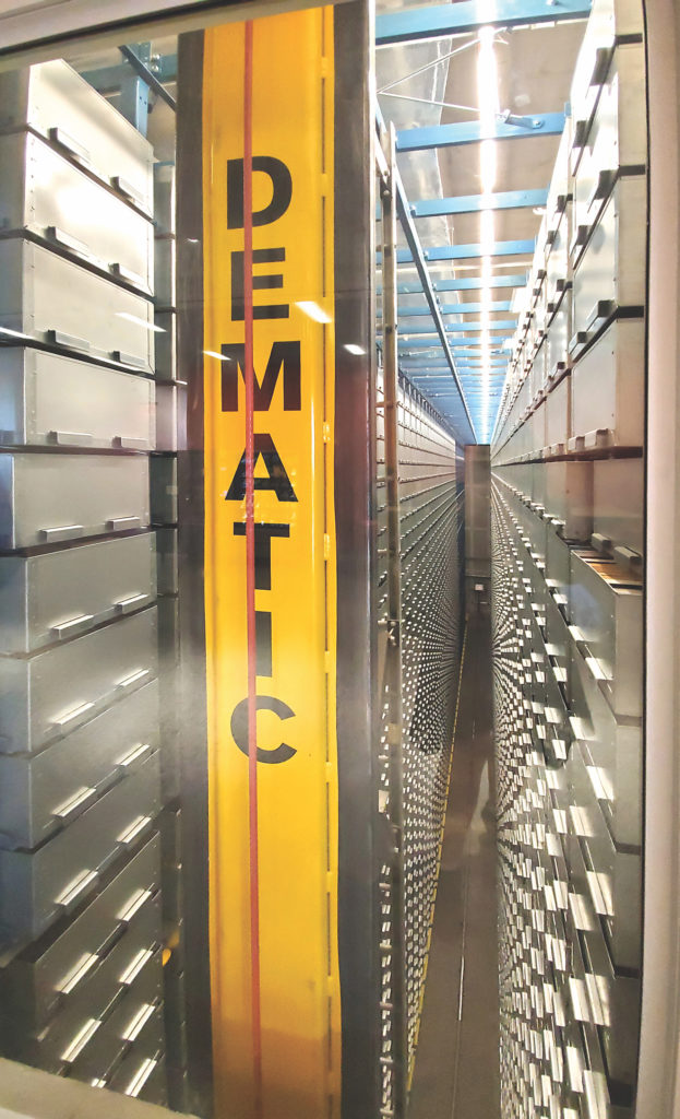 automated book-retrieval system known as the BookBot