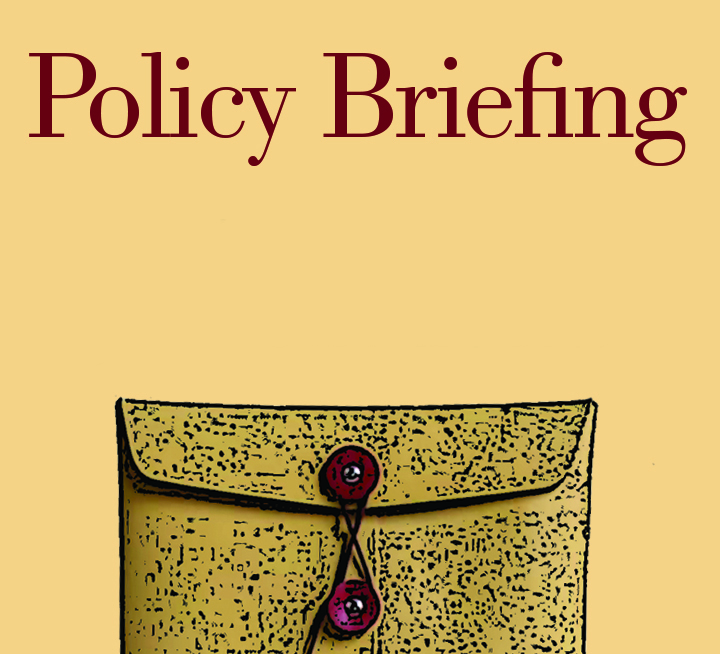thumbnail of an envelope full of policy papers