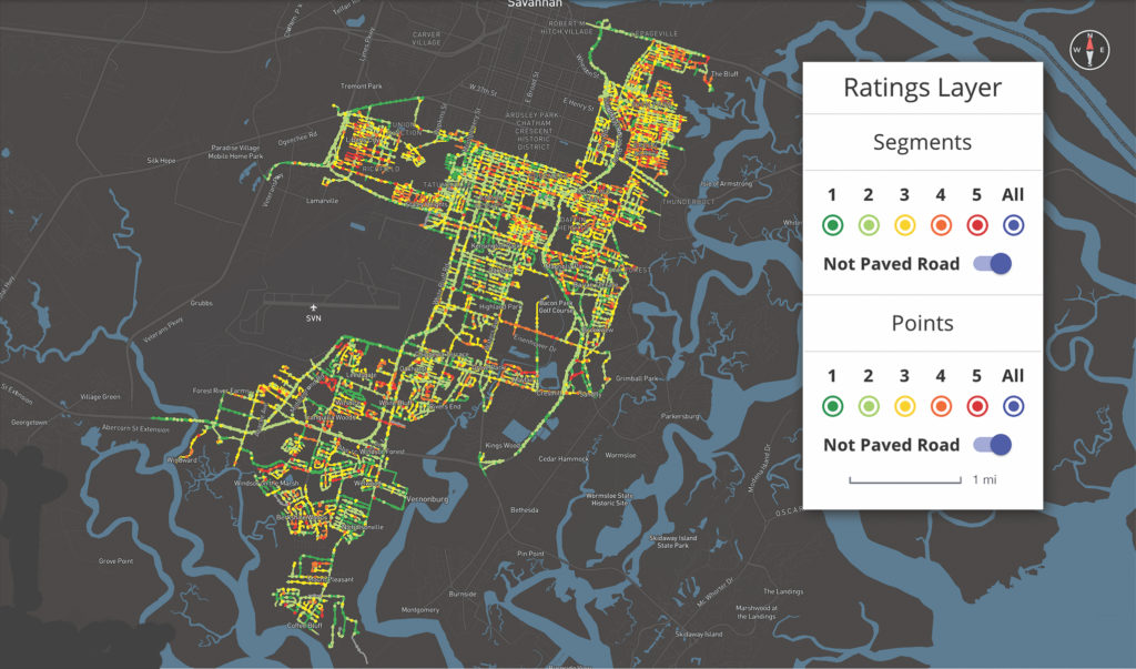 RoadBiotics digital map